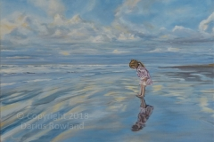 """""""Girl On Beach"""""""