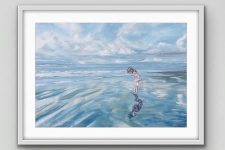 ''Girl on the Beach''