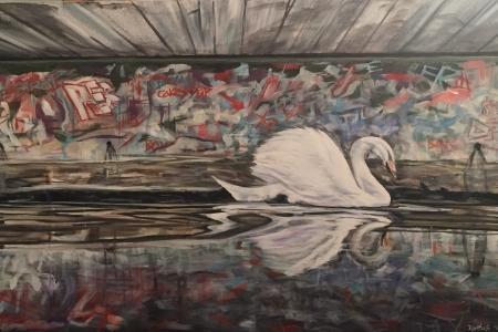 ''Swan Grafitti''