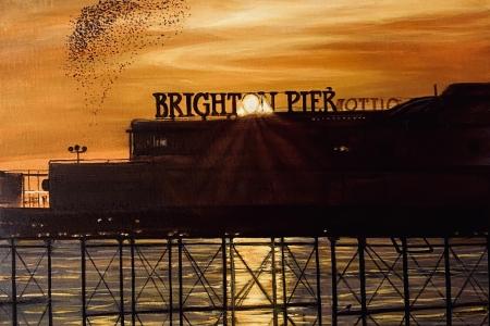 ''Starling Sunset''
