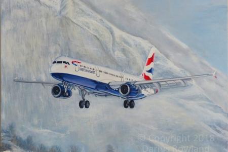 """Airbus A321 GB Airways Innsbruck"""