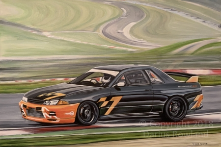 """Nissan Skyline GT-R"""